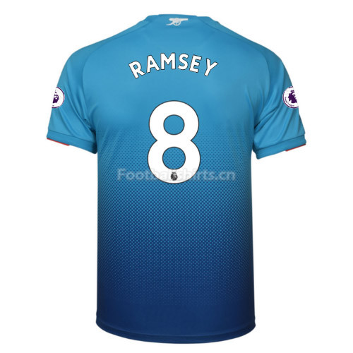 Arsenal Away RAMSEY #8 Soccer Jersey 2017/18